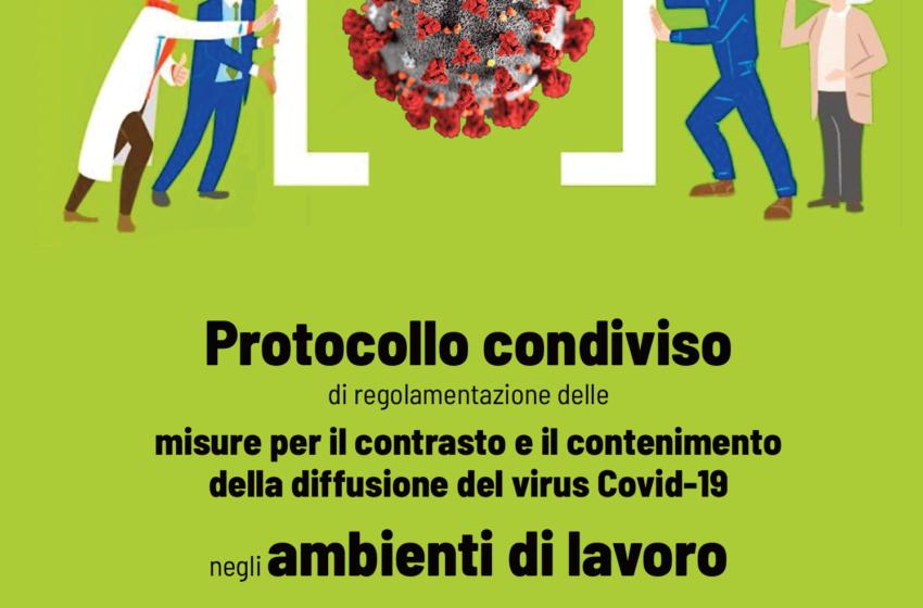 Contenimento della diffusione del virus Covid-19 negli ambienti di lavoro
