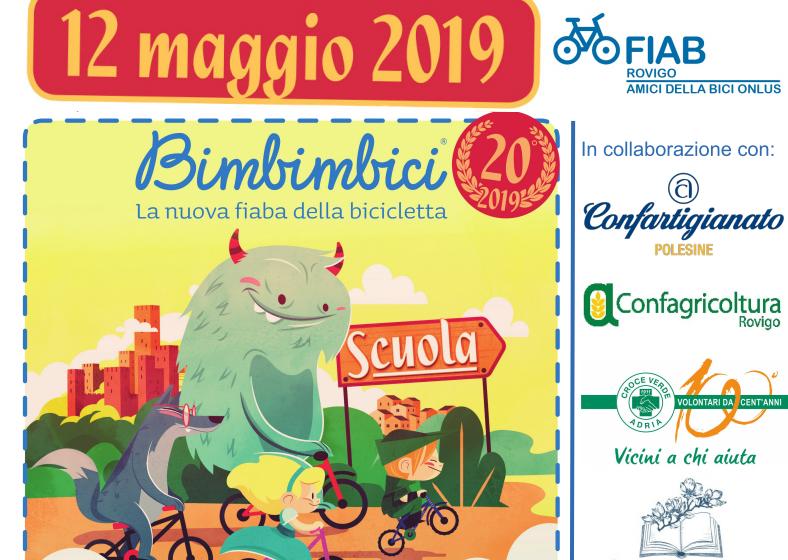Rovigo in bici 2019, il 12 maggio tutti in piazza per Bimbi in bici